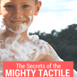 The Secrets of the Mighty Tactile Sense Revealed