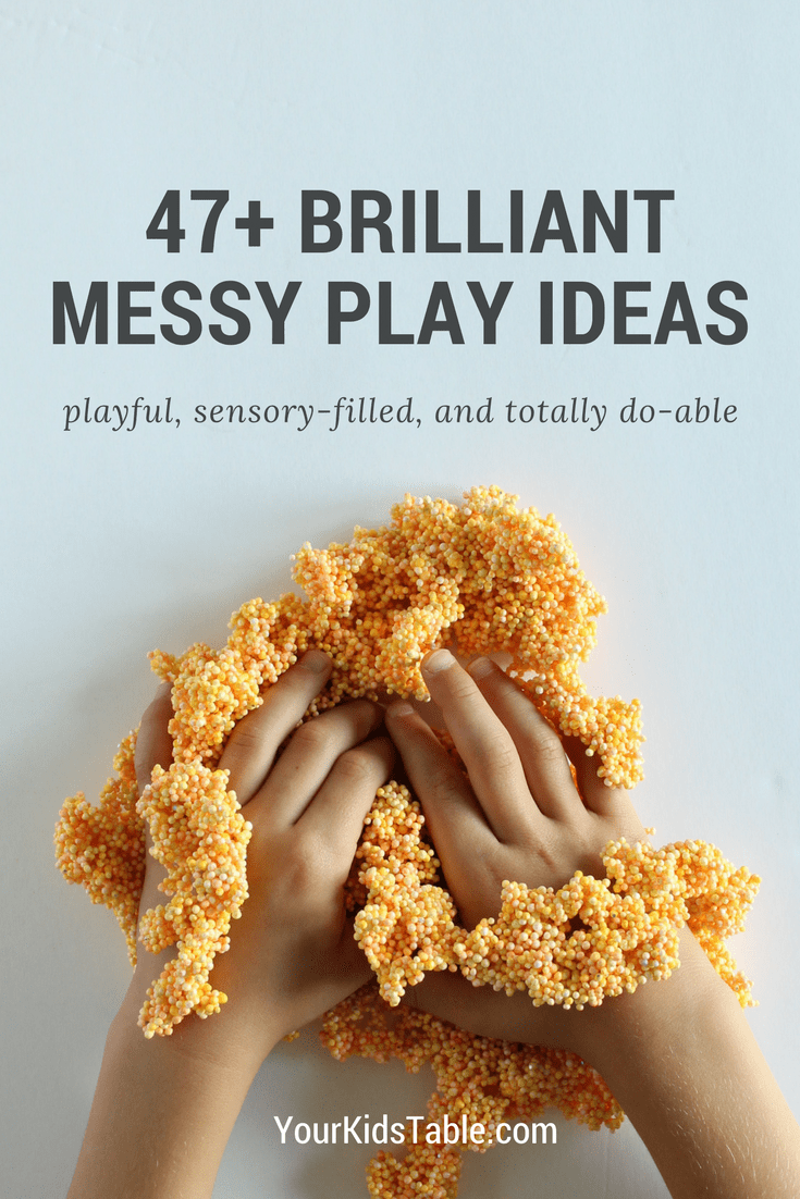 Epic Messy Play List That S Sensory Filled Inspiring And Easy