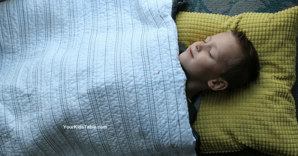Everything you need to know about  using a weighted blanket for children, kids with autism, and the sensory benefits. Where to get them, DIY versions, and much more!