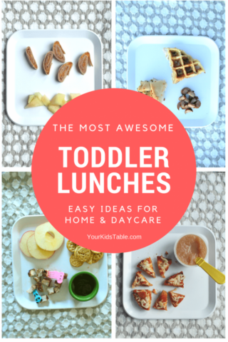 The Most Awesome Toddler Lunch Ideas You Can Find!