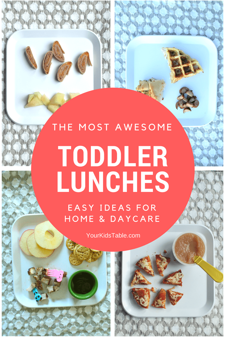 Snag simple toddler lunch ideas for daycare or home with your 1 or 2 year  old