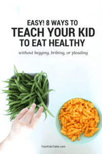 How to Teach Your Child to Eat Nutritiously without Begging, Bribing, or Pleading!