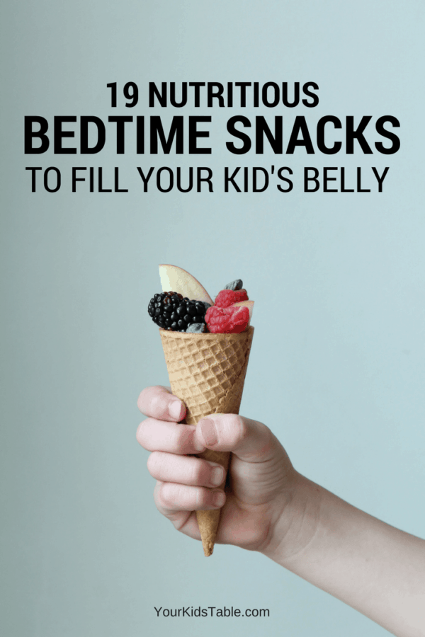 Super easy, healthy, and filling evening snacks for kids. Get new ideas and maybe even have your child eat something new with these fun ideas that kids will get excited about.
