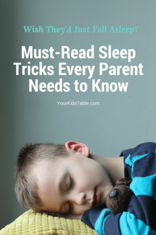 Sensory Tricks to Help Your Kid Fall Asleep Fast!