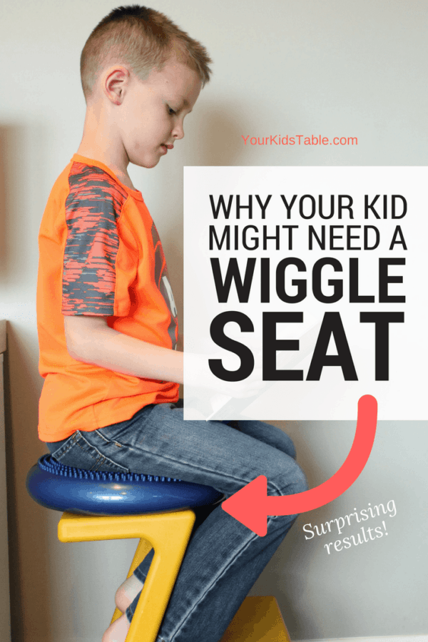 There is tremendous power in using wiggle seats, wobble cushions, or balance discs to help your child with attention, staying seated, their core strength, or balance. Learn why they work, how to use them, and the best wiggle seat options!#sensory #sensoryprocessingdisorder #Autism #funthingsforkids