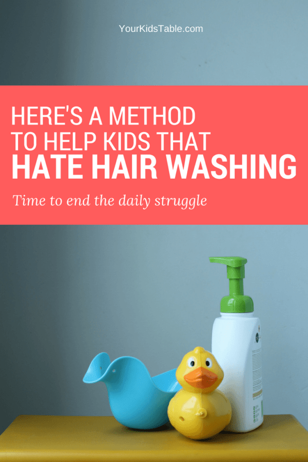 Do you dread washing your kid's hair because they hate it so much and often throw a total fit at any attempt to do so? Check out these simple solutions while understanding why the heck they can't stand it anyways. #parenting #sensoryprocessing #sensoryissues #autism #toddler #yourkidstable