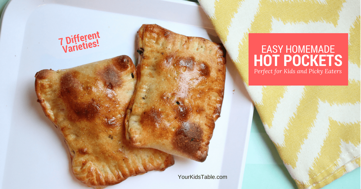 Delicious Homemade Hot Pockets Your Kid