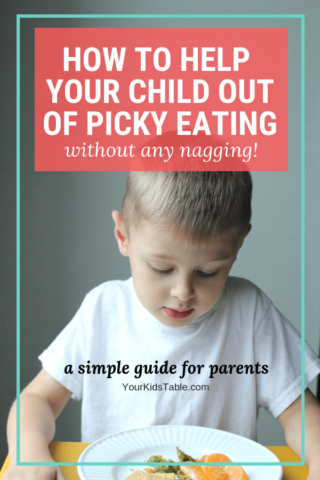 How to Help Your Child Out of Picky Eating Without Nagging