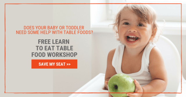 Some babies and toddlers have a hard time learning to eat solids, table, and finger foods. When they do there are some damaging myths that must be busted so they can learn to eat!
