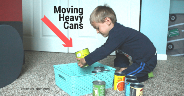 Over 40 heavy work activities for kids, toddlers, and preschoolers that are designed to help calm and improve attention. Many of these activities can be done through natural activities your child is already doing!