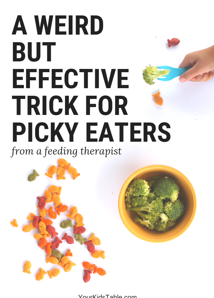 A Weird Trick but Effective Trick for Picky Eaters