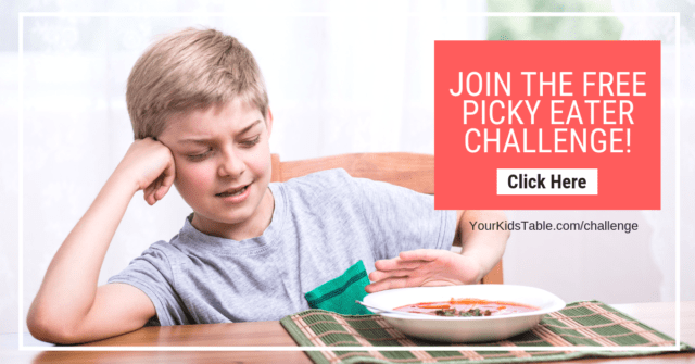 Join the free picky eating challenge for parents to help your kid. Limited time only!