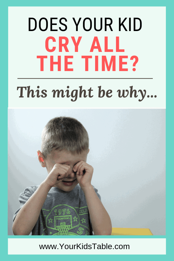 Five Things To Do When Your Child Wails >> Does Your Child Cry All The Time This Might Be Why Your Kid S