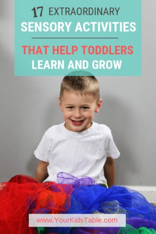 22 Extraordinary Sensory Activities That Help Toddlers Learn and Grow