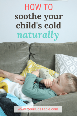 How to Soothe Your Child's Cold Naturally