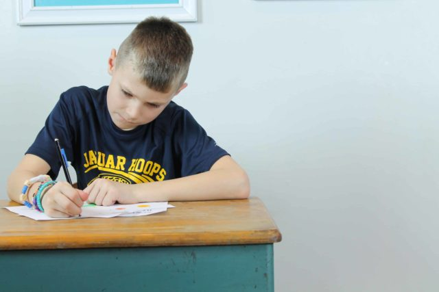 Teach your child how to focus on homework with these easy tips, ideas, and strategies so you can stop the nagging and daily battles over getting it done!