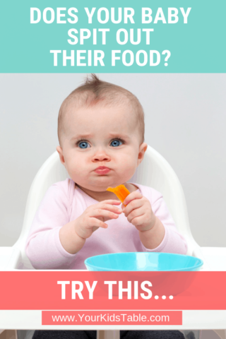 Does Your Baby or Toddler Keep Spitting Out Their Food? Try This…