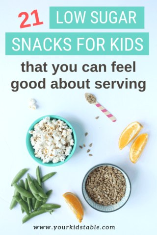 Low Sugar Snacks That You Can Feel Good About Serving