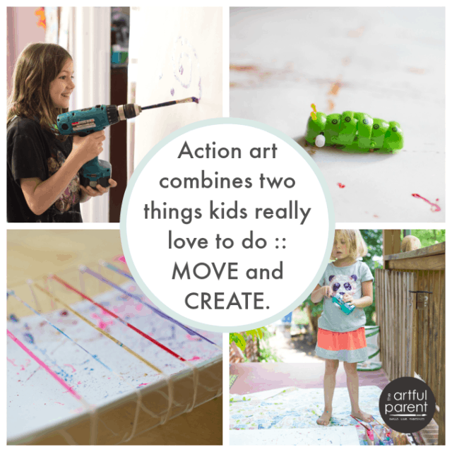 Did you know that art has A LOT of developmental benefits for kids? Learn what they are and how to make art easy and doable in your home!