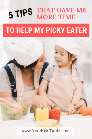5 Tips That Gave Me More Time to Help My Picky Eater