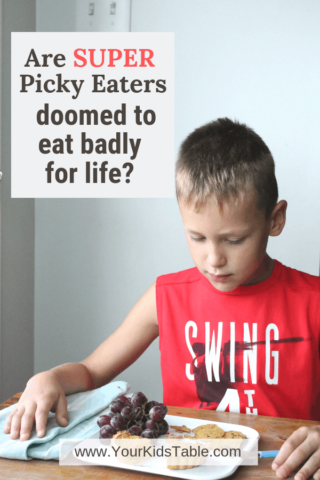 Are Super Picky Eaters Doomed to Eat Badly for Life?
