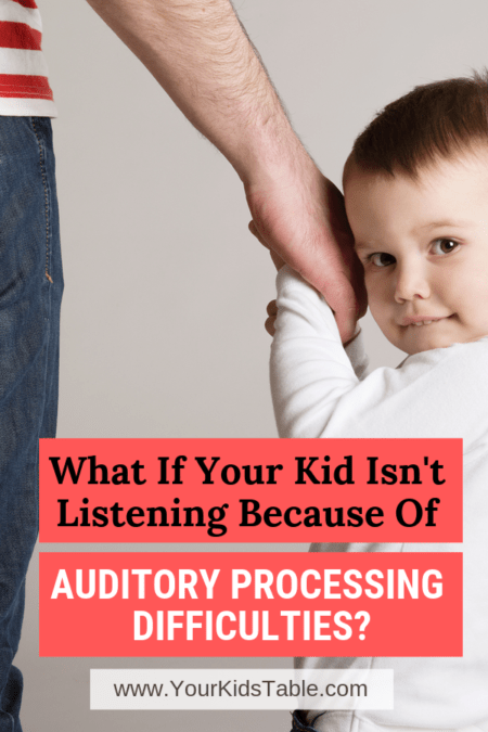 Auditory processing difficulties are often missed in kids especially when they're mild to moderate. Find out how they could be affecting your child and what you can do to help them listen and follow directions better than ever before! #audioprocessingdifficulties #audioprocessingdisorder #audioprocessingdisorderchildren #audioprocessingdisorderactivities