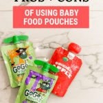 Must-Know Pros & Cons of Using Baby Food Pouches