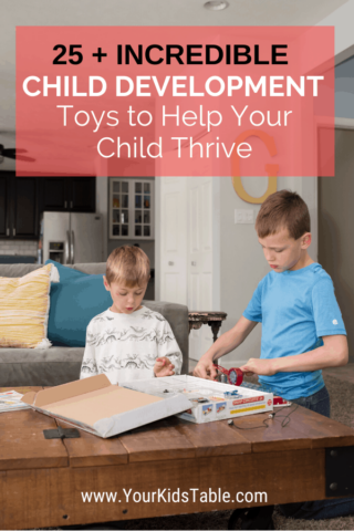 Incredible Child Development Toys to Help Your Child Thrive