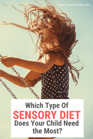 Which Type of Sensory Diet Does Your Kid Need the Most?