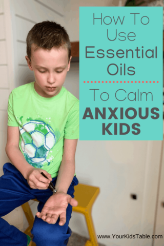 How to Use Essential Oils to Calm Anxious Kids