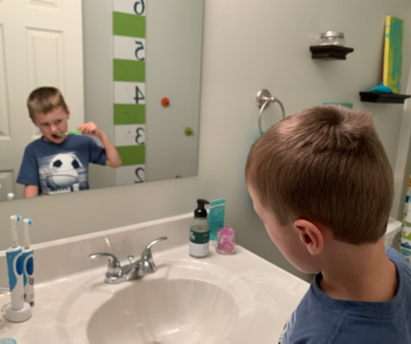 "I hear from parents all the time, ""Help, my child won't brush her teeth!""  Discover why and get 9 powerful tips to help your child move past the refusals, battles, and tantrums quick. Affiliate links used below."