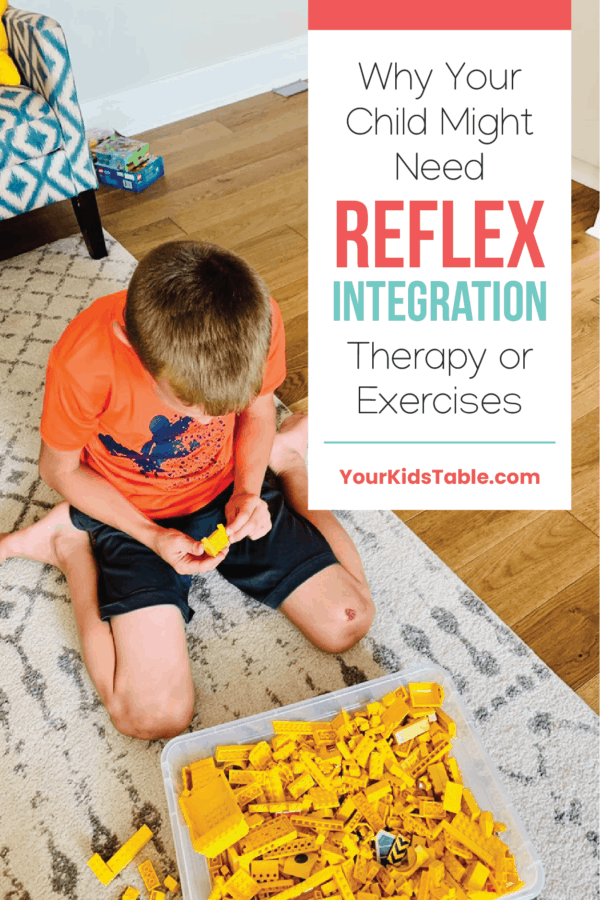Each child is born with a set of critical primitive reflexes to help them develop and keep them safe, but it's important these reflexes disappear. Learn why and if reflex integration therapy is right for your child. #reflexintegrationtherapy #reflexintegrationactivities #reflexintegrationtherapyexercises #reflexintegration #reflexintegrationactivitesforkids