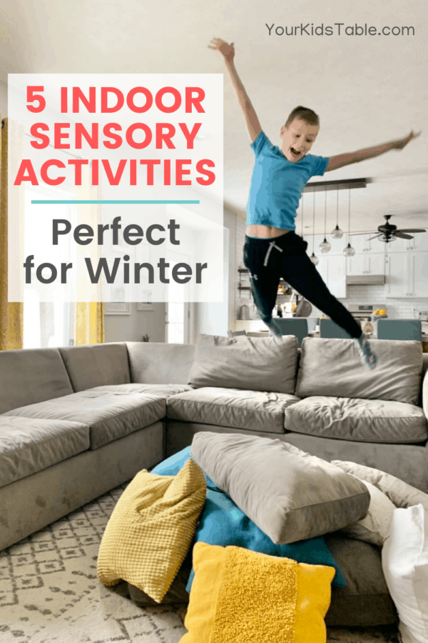 Need some inspiration for fun and easy indoor sensory activities? Come check out 5 incredibly powerful sensory activities that don't require any special equipment or supplies... #indoorsensoryplay #indoorsensoryactivities #indoorsensoryactivitiesfortoddlers #indoorsensoryactivitiesforkids