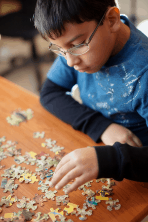 As a pediatric OT, I'm always surprised at how many parents of kids with Autism (ASD) haven't been told about the big link to sensory processing. Read on to learn about this important connection...