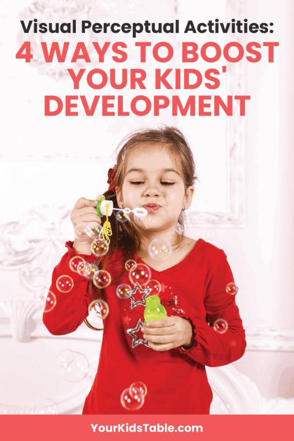 Visual Perceptual Activities: 4 Ways to Boost Your Kids' Development