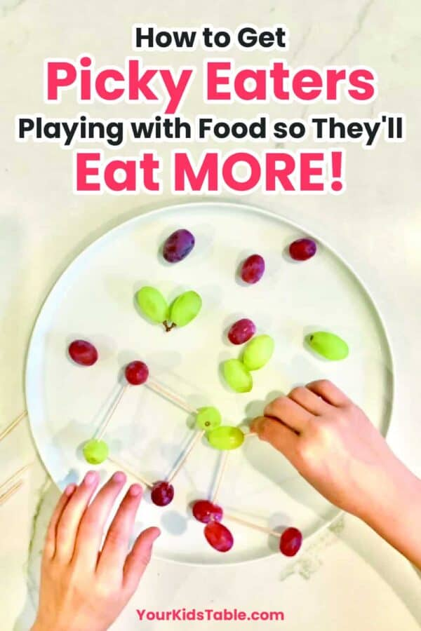 How to Get Picky Eaters Playing With Food So They'll Eat MORE!