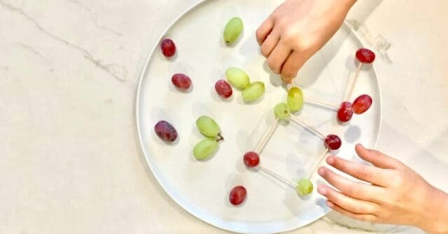 Learn dozens of ways to set up and encourage your child to play with their food so that they eat new and different foods! Playing with food is one of my favorite strategies as an occupational therapist...