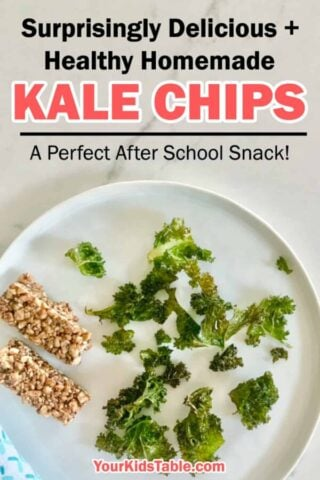 Surprisingly Delicious + Healthy Homemade Kale Chips: A Perfect After School Snack!