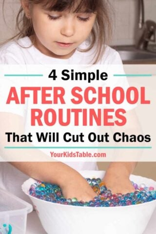 4 Simple After School Routines That Will Cut Out Chaos