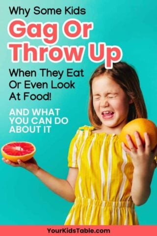 Why Some Kids Gag and Throw Up When They Eat or Even Look at Food!